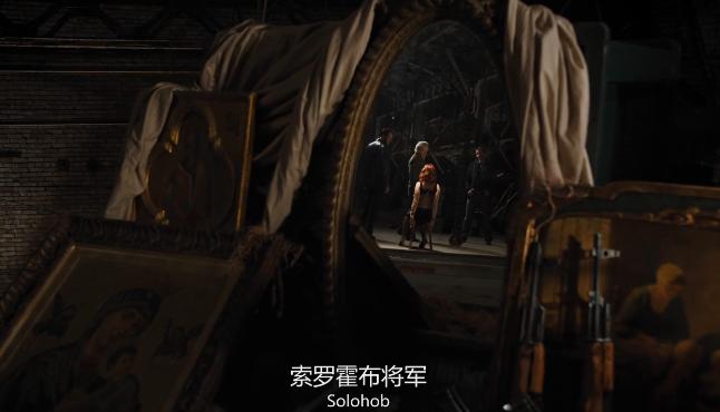 《复仇者联盟》黑寡妇亮相