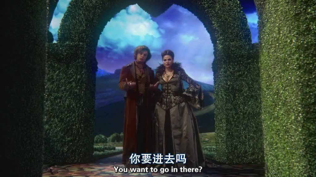 瑞金娜和杰弗森仙境进入了仙境,里面很神奇