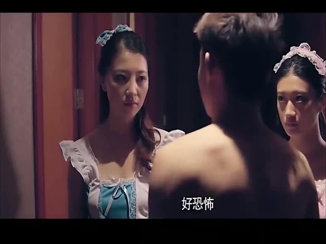 #高能 电影片段 #没想到还看的妹子原来是这么恐怖的壮汉扮演的