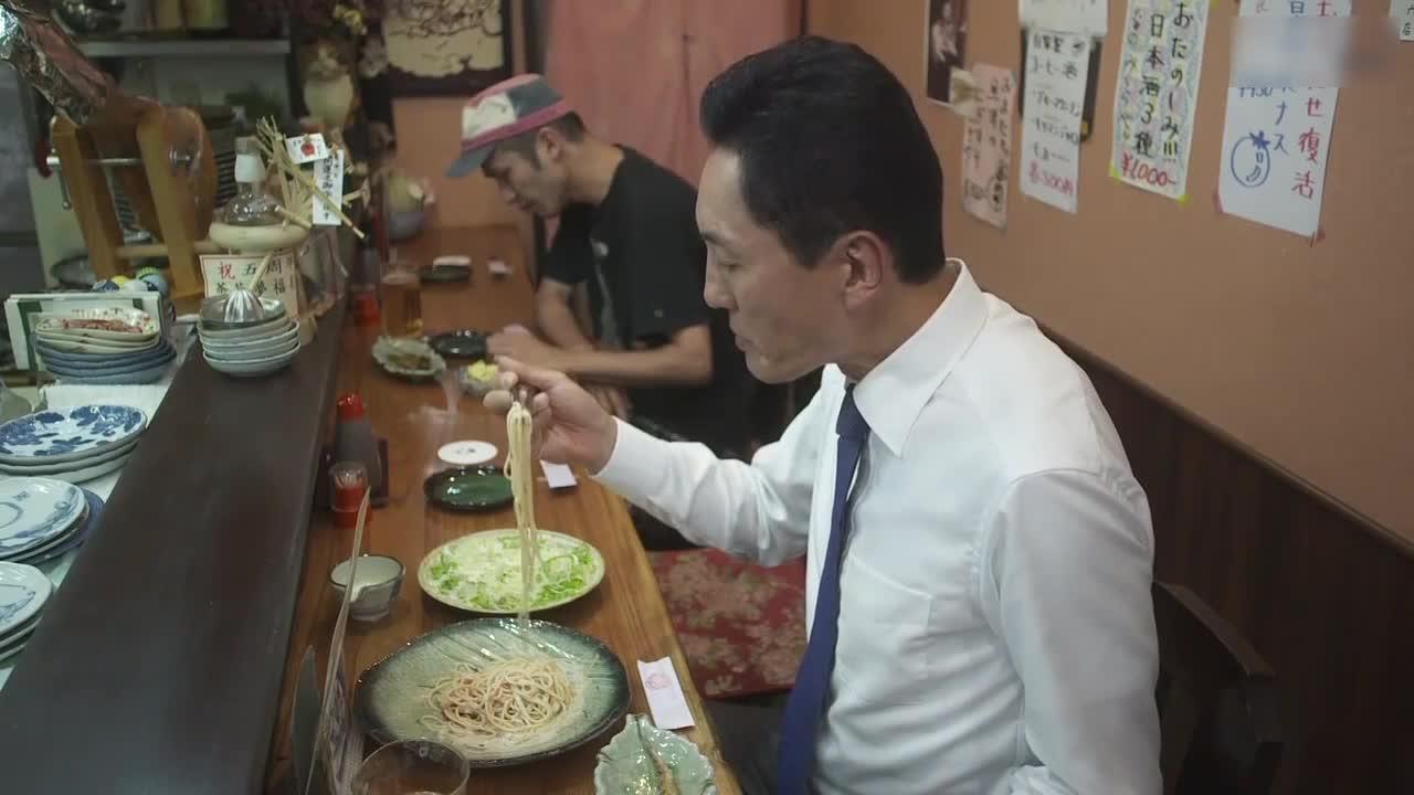 井之头五郎美食家,尝试沙拉
