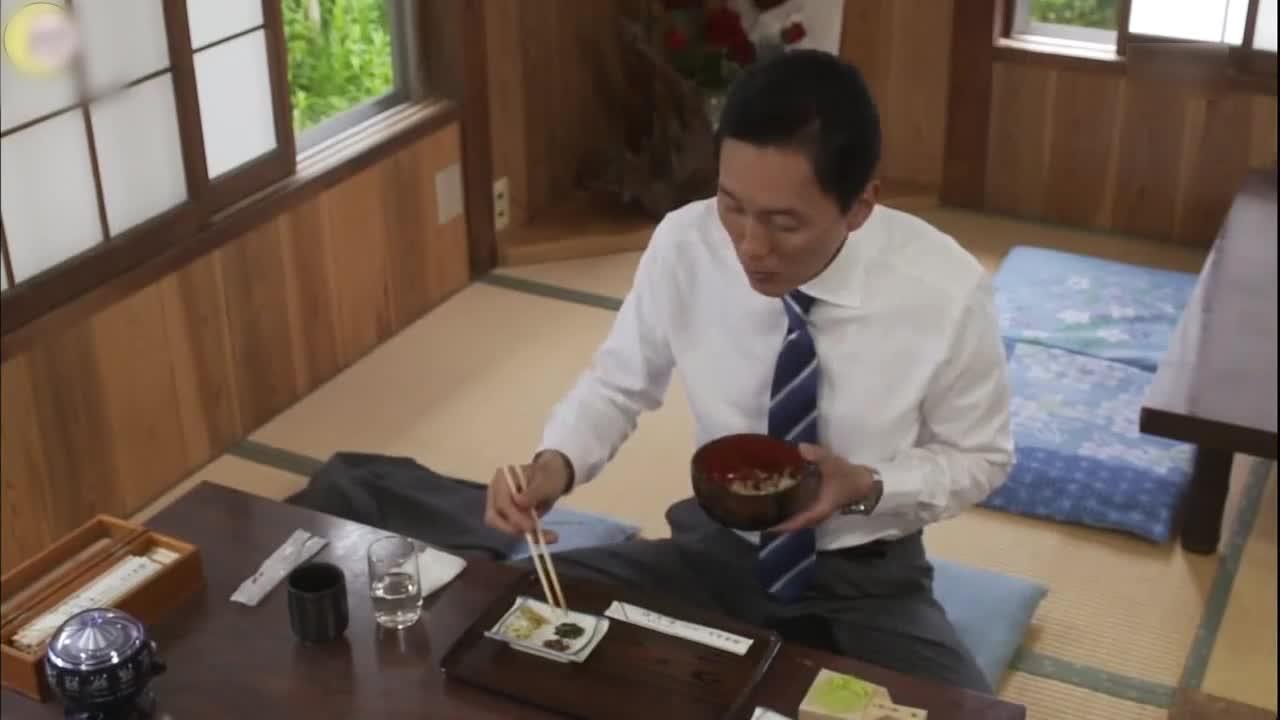 井之头五郎美食家,尝试山葵盖浇饭
