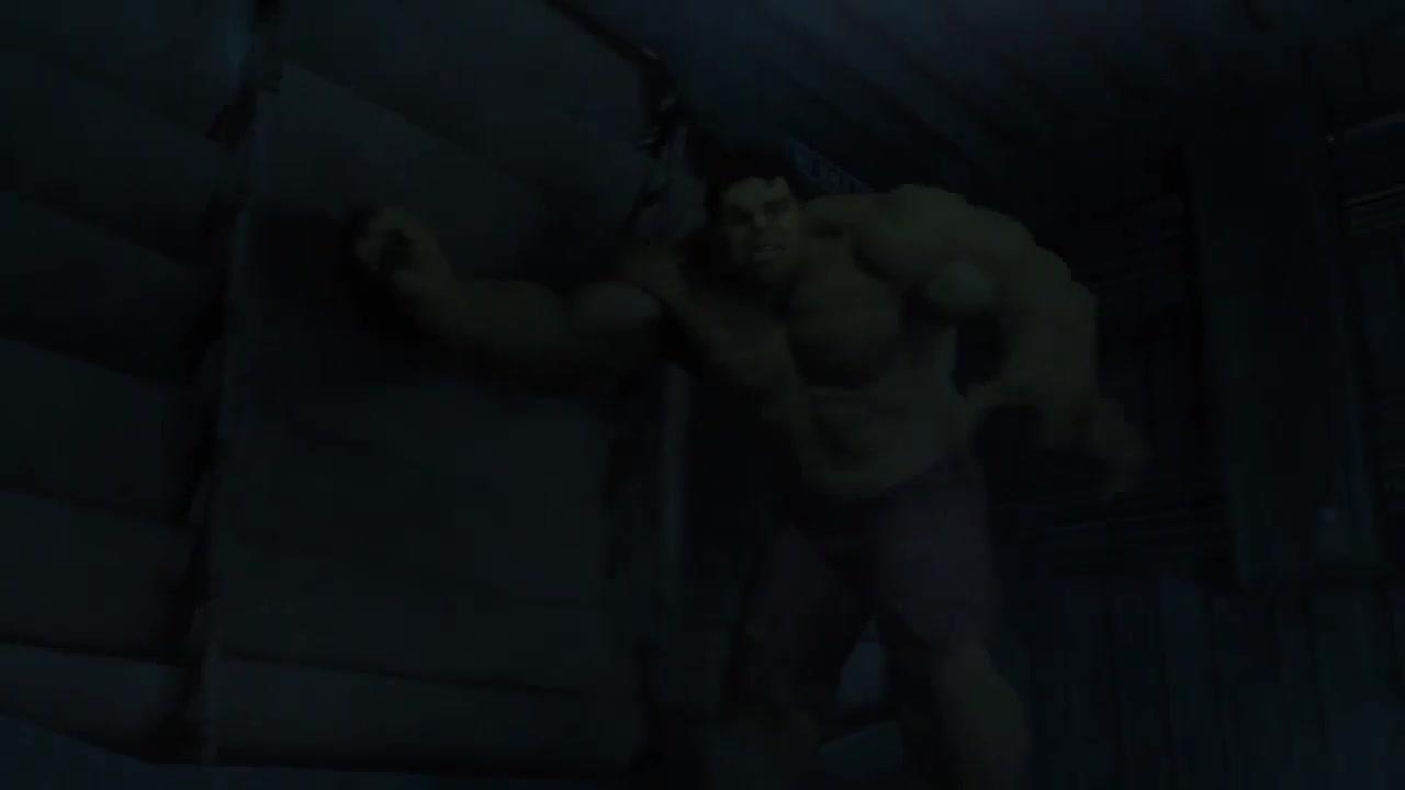 绿巨人发疯了追着黑寡妇打,雷神都不是对手