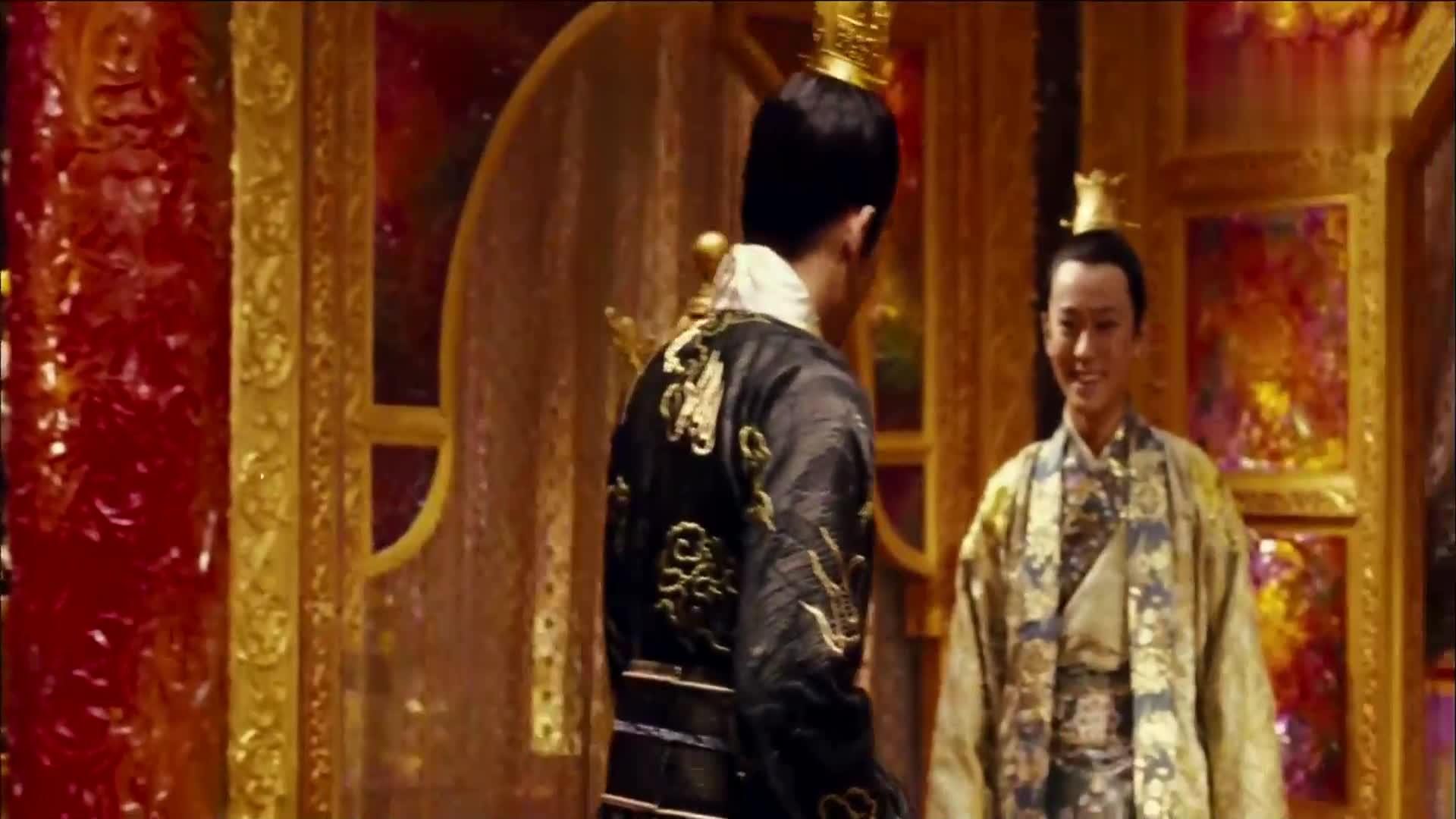 刘烨与周杰伦同时出演皇子,谁更加帅气逼人?