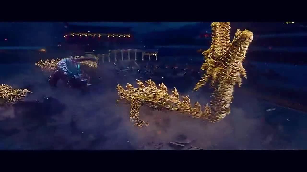 #电影#黑毒龙有上万年的修为,降龙罗汉虽化身金龙,也打不过毒龙!