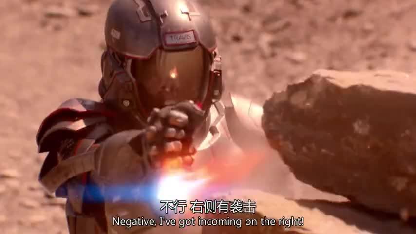 #电影片段#电影推荐:地球人在外星与小股外星人作战《浩瀚苍穹》