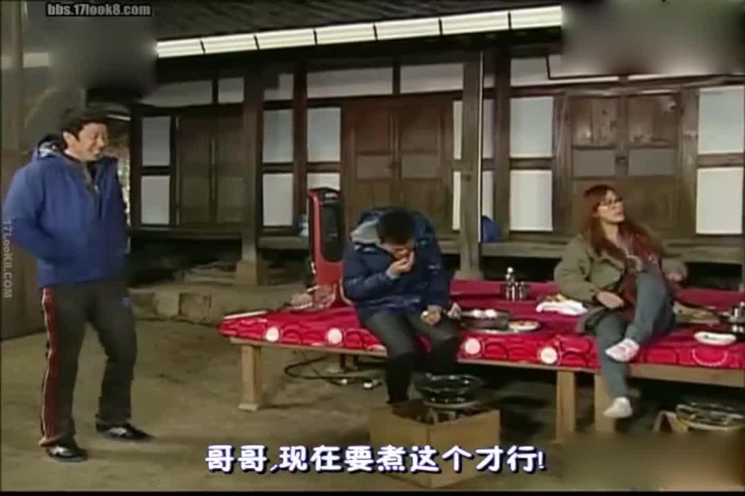 刘在石让李孝利做饭,李孝利根本不理他?