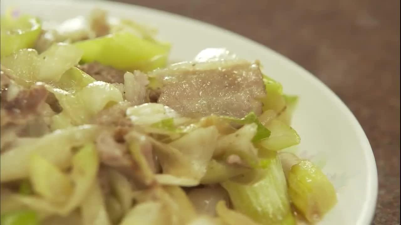 井之头五郎美食家,尝试葱炒肉