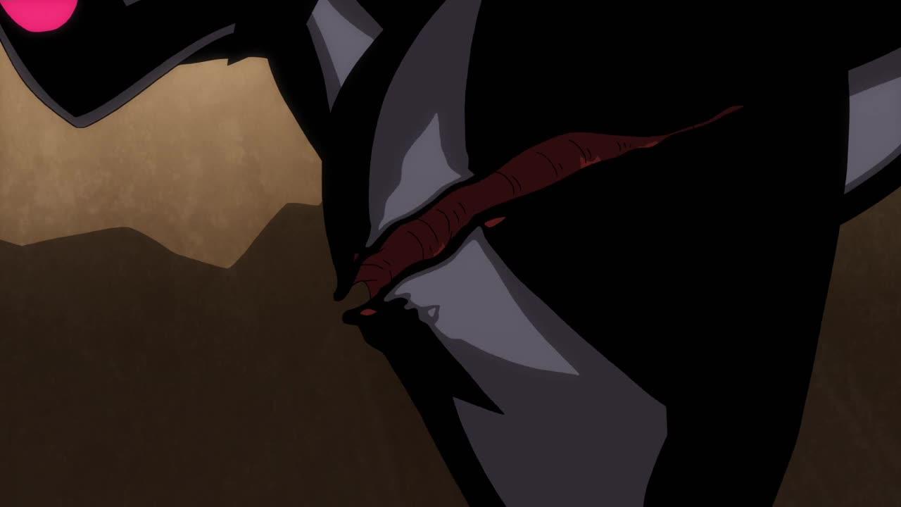 超人三人和黑暗生物疯狂交战,无意间,超人发现对方弱点