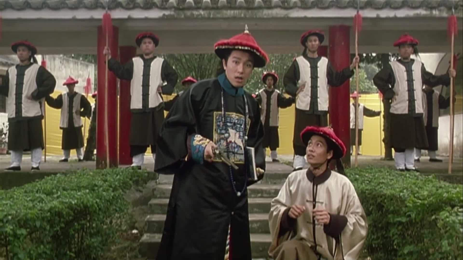 鹿鼎记:周星驰实在太贱了,把陈百祥打死还要抄他的家!笑喷