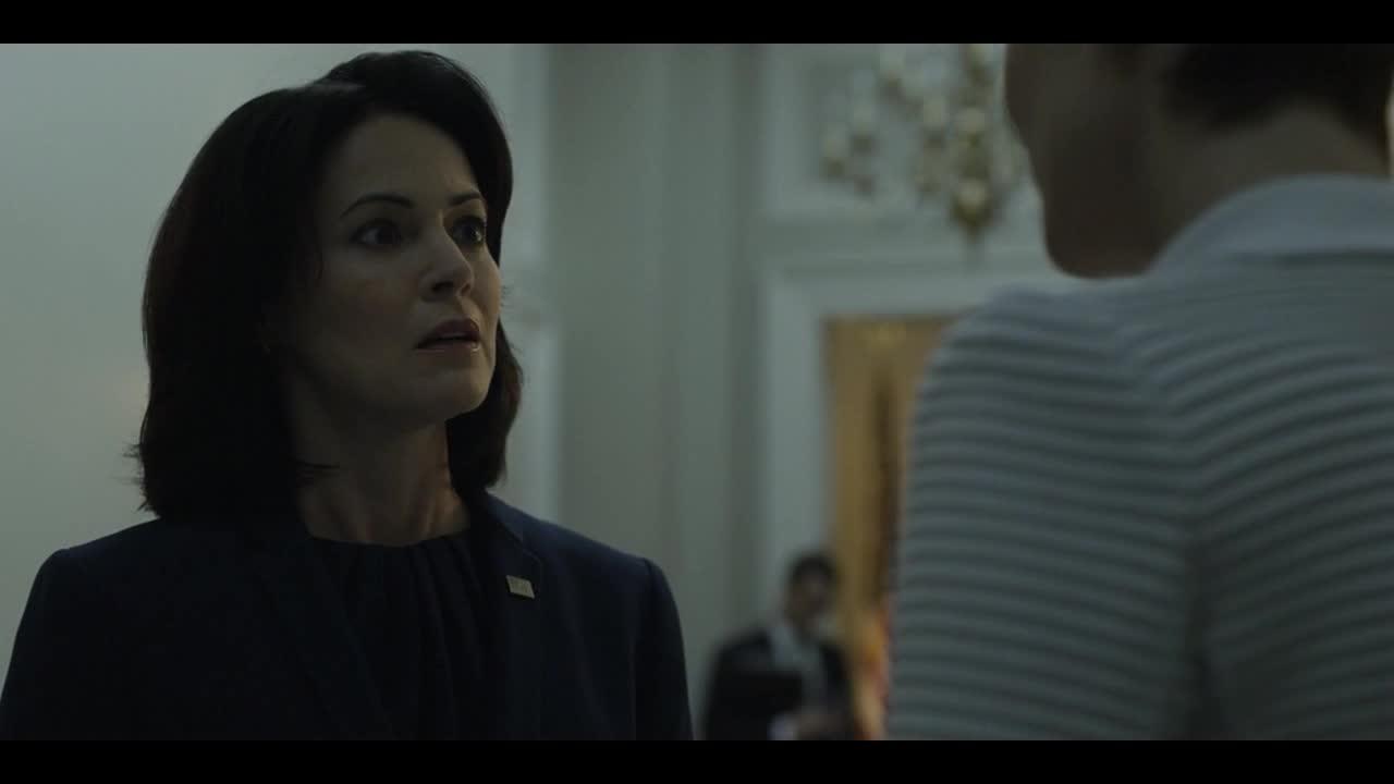 弗兰克来找凯西,凯西责怪弗兰克对总统下手?