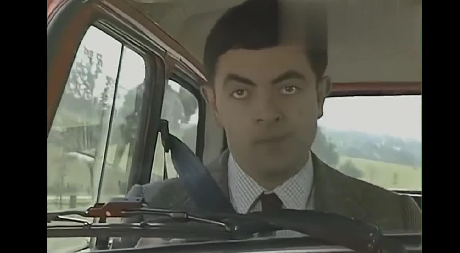 #经典看电影#憨豆先生的车技真的太厉害了,不得不看
