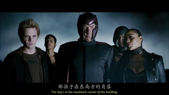 万磁王大军抵达恶魔岛与X战队决战