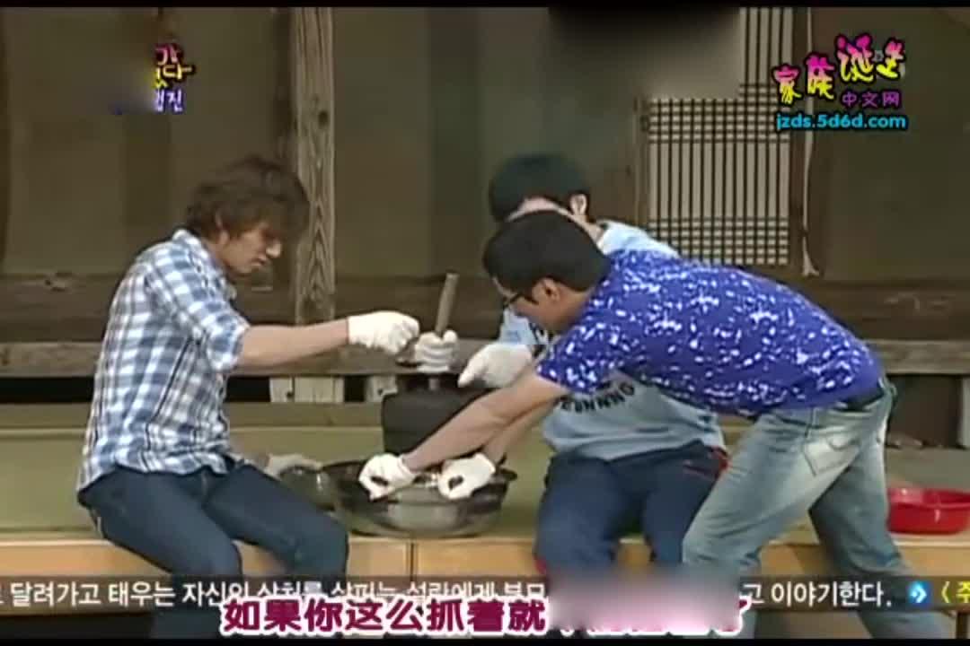 刘在石和大成一起磨豆浆,这真是古老的做法?