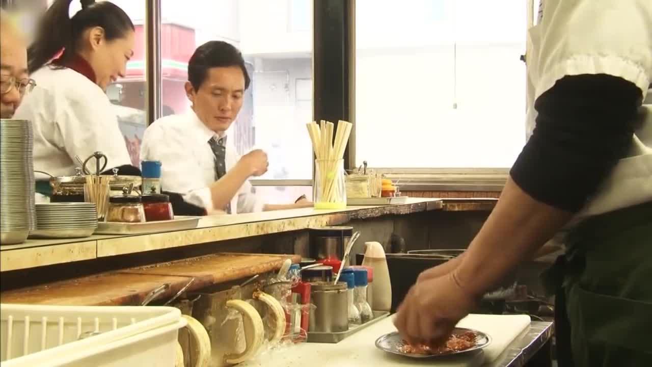 井之头五郎美食家,尝试成吉思汗烤肉