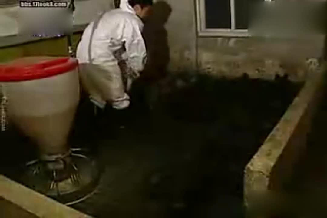 刘在石这是在干啥,还穿着无尘服?