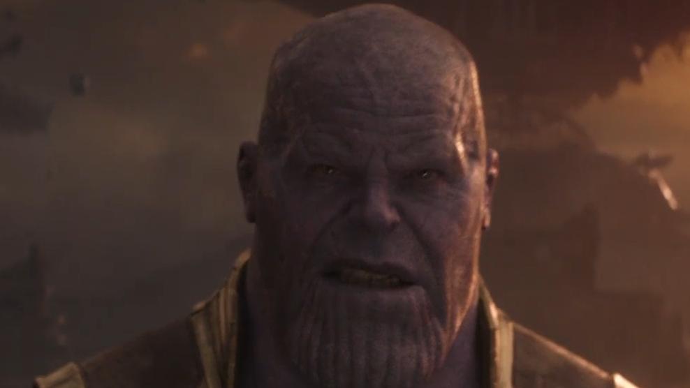 复联4:终局之战雷神钢铁侠和美队加起来都不是灭霸对手