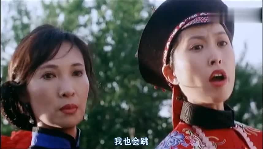 两个女人一台戏这话真不假,功夫皇帝也吃不消了,幸亏没再来一个