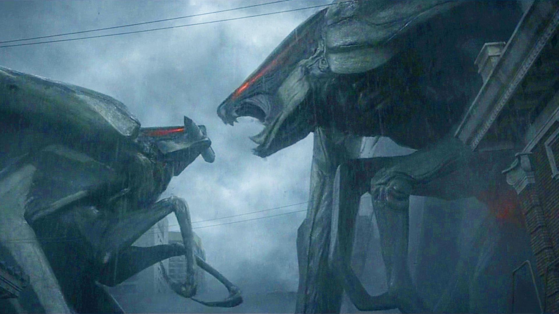 #经典看电影#哥斯拉中的怪兽乱入环太平洋,二叠纪远古巨兽穆托袭击旧金山