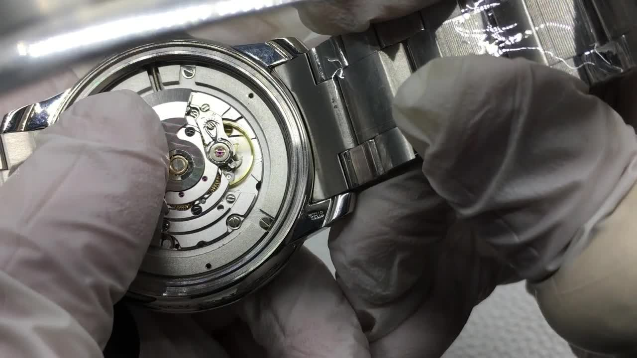 ZF宝珀五十寻5015-1130-71钢带潜水腕表,内部报告