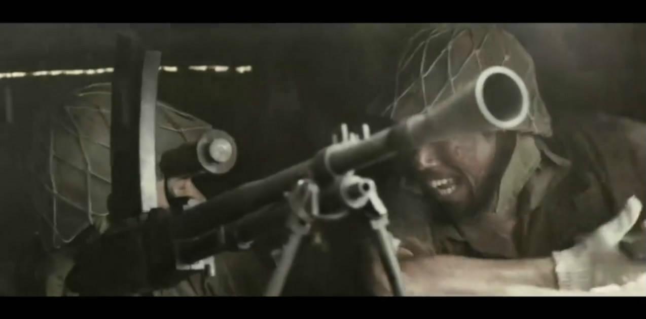 1944年曰军发起集体冲锋美军在太平洋战争中最残烈的一场战役