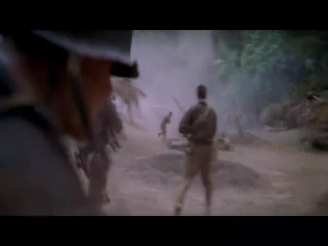 美军冲进日军阵地,日本人都跟疯了一样