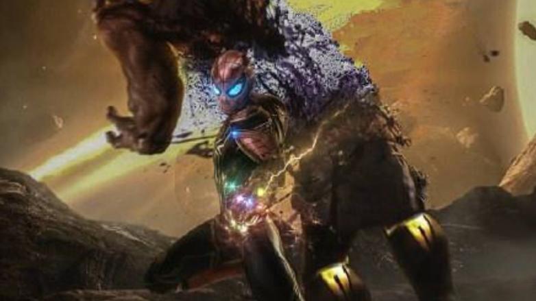 #惊奇队长再打响指#《复联4》惊奇队长再打响指,灭霸消失?蜘蛛侠满血复活刚灭霸!