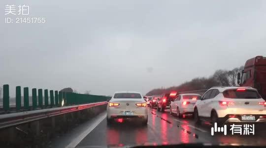 高速堵的很