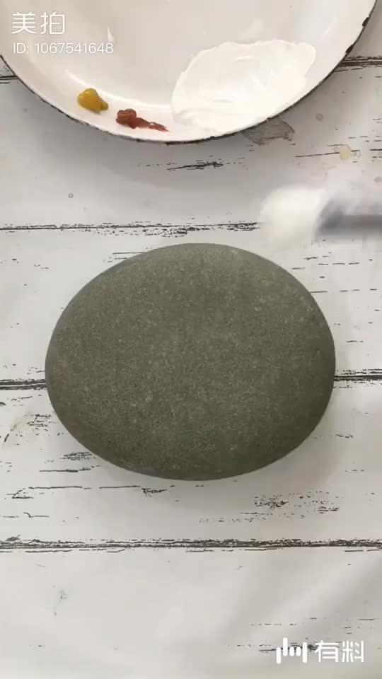 这是一块有想法的石头