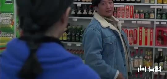 胖子是超市的老顾客,结果被新来的女经理误会了