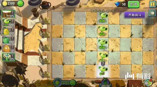 植物大战僵尸动画游戏 想偷向日葵先打倒豌豆射手?